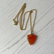 Load image into Gallery viewer, Victorian Carnelian Heart Pendant