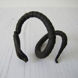 Antique Chinese Carved Victorian Snake Bracelet