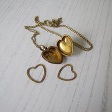 Load image into Gallery viewer, Victorian 9ct Gold & Pearl Heart Locket On Chain - MercyMadge