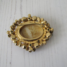 Load image into Gallery viewer, Huge Vintage 1960s Juliana D&E Italian Art Glass & Crystal Brooch - MercyMadge