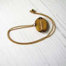 Load image into Gallery viewer, Antique 15ct Gold Locket Pendant, Mourning For Edward Aged 8 - MercyMadge