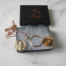 Load image into Gallery viewer, Edwardian 9ct Gold Antique Photo Locket