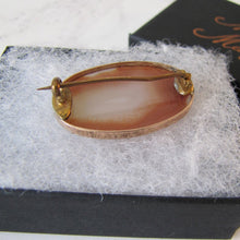 Load image into Gallery viewer, Georgian/Victorian 9ct Rose Gold Carnelian Brooch