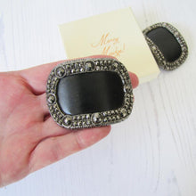 Load image into Gallery viewer, Pair Of Georgian Cut Steel Shoe Buckles - MercyMadge