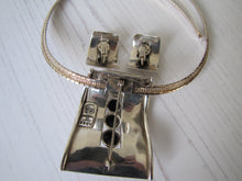 Laden Sie das Bild in den Galerie-Viewer, Margot De Taxco Sterling Silver Pendant & Earring Set, Mexico, 1950's - MercyMadge