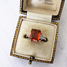 Load image into Gallery viewer, Art Deco 9ct Gold Citrine Ring - MercyMadge