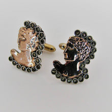 Load image into Gallery viewer, Vintage 8ct Gold Cufflinks - Michelangelo's David. - Mercy Madge