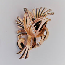Load image into Gallery viewer, Nordic New York Vintage Sterling Silver, Rose Gold Flower Brooch. - MercyMadge