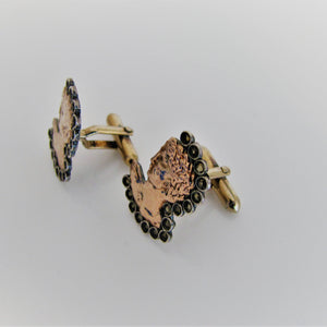 Vintage 8ct Gold Cufflinks - Michelangelo's David. - MercyMadge