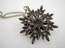 Load image into Gallery viewer, Georgian/Victorian Vauxhall Glass Pendant Necklace - MercyMadge
