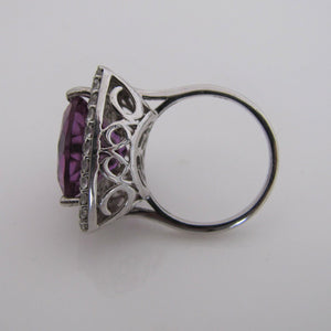 Sterling Silver Tanzanite Ring - MercyMadge