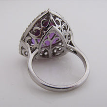 Load image into Gallery viewer, Sterling Silver Tanzanite Ring - MercyMadge