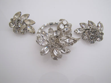 Eisenberg Brooch & Earring Set - Mercy Madge