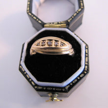 Load image into Gallery viewer, Antique 18ct Gold Diamond Band Ring, Chester 1911 - Mercy Madge