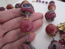 Load image into Gallery viewer, Vintage 1960s Vendome Necklace & Earring Set. - MercyMadge