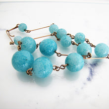 Load image into Gallery viewer, 1920's Art Deco Czech Glass & Gold Wire Necklet. - MercyMadge