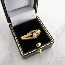 Load image into Gallery viewer, Victorian 18ct Gold Diamond Belcher Ring - MercyMadge