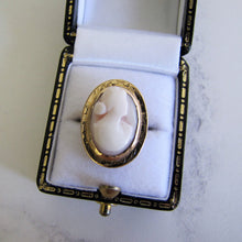 Load image into Gallery viewer, Antique 18ct Gold Coral Cameo Ring - Mercy Madge