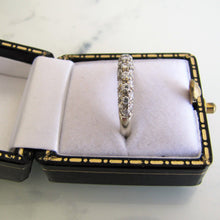 Load image into Gallery viewer, 9ct White Gold CZ Diamond Eternity Ring - MercyMadge