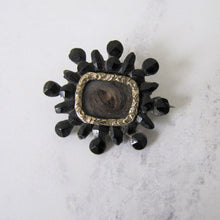 Load image into Gallery viewer, Georgian Vauxhall Glass Locket Brooch. - MercyMadge