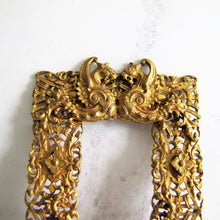 画像をギャラリービューアに読み込む, Large Antique Georgian Pinchbeck Gilt Buckle - MercyMadge