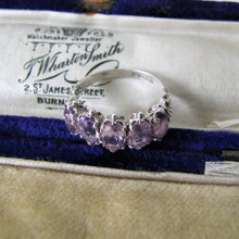 Load image into Gallery viewer, 9ct Gold Amethyst Ring. - MercyMadge