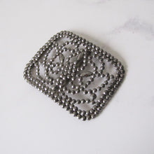 Load image into Gallery viewer, Antique Cut Steel French Buckle. - MercyMadge