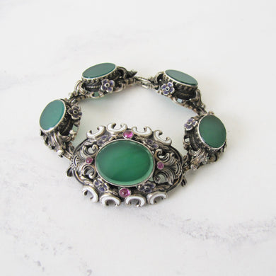 Antique Austro Hungarian Suffragette Bracelet