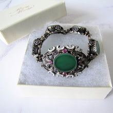 Load image into Gallery viewer, Antique Austro Hungarian Suffragette Bracelet - MercyMadge