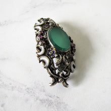 Load image into Gallery viewer, Austro Hungarian Suffragette Brooch - Mercy Madge