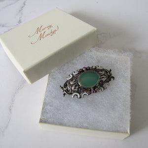 Austro Hungarian Suffragette Brooch - Mercy Madge
