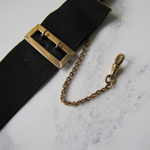 Victorian Mourning Fob/Pocket Watch Clip - MercyMadge