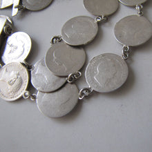 Load image into Gallery viewer, Victorian Maundy Money Silver Coin Bracelet - MercyMadge