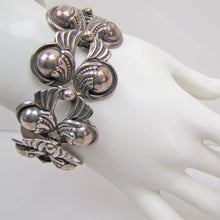 Load image into Gallery viewer, Margot De Taxco, Mexico Sterling Silver Bracelet, Design 5240 - Mercy Madge