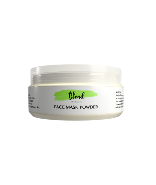 BLEND NATURAL FACE MASK POWDER