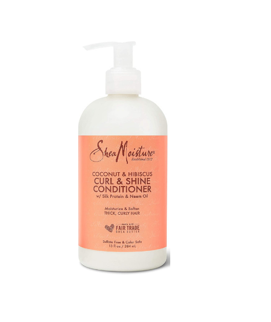 Shea Moisture Coconut and Hibiscus Curl Conditioner