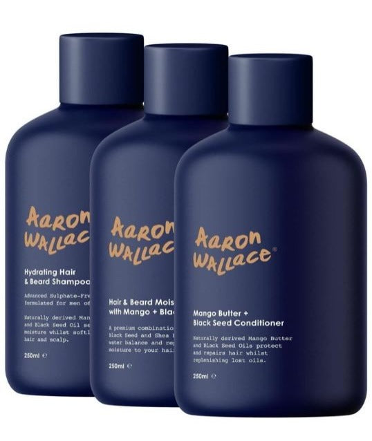 The Aaron Wallace:3-Step Haircare System
