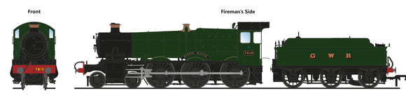 PRE-ORDER Accurascale ACC2507-7819 7819 Hinton Manor GWR Green