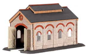 Ratio 203 Engine Shed N Scale Plastic Kit