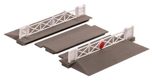 Ratio 234 Level Crossing With Gates N Scale Plastic Kit