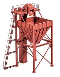 Ratio 247 Coaling Tower N Scale Plastic Kit