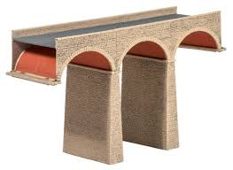 Ratio 251 Three Arch Viaduct N Scale Plastic Kit