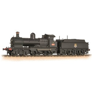 Bachmann 31-086a GWR 32XX 'Earl' 9018 BR Black Early Crest (Weathered)