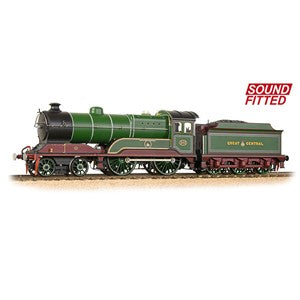 Bachmann 31-147DS GCR 11F 502 'Zeebrugge' GCR Lined Green Sound Fitted