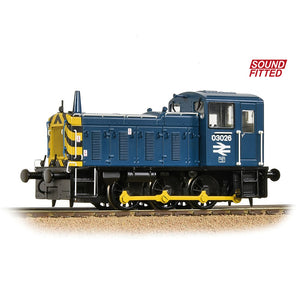 Bachmann 31-368DS Class 03 03026 BR Blue Sound Fitted