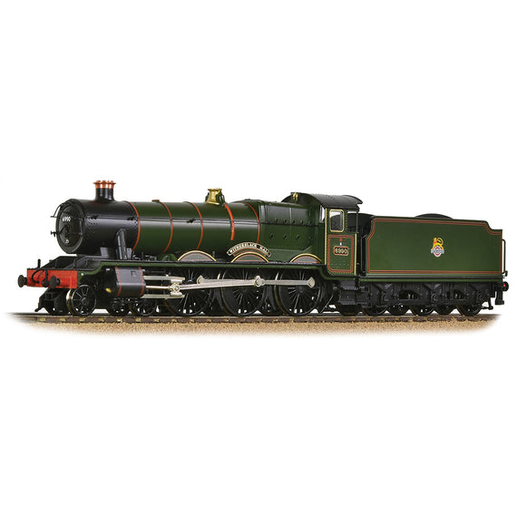 PRE-ORDER Bachmann 31-785 GWR 'Modified Hall' 6990 'Witherslack Hall' BR Lined Green (Early Emblem)