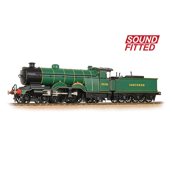 Bachmann 31-911SF LB&SCR H1 Atlantic 2038 'Portland Bill' SR Malachite Green SOUND FITTED