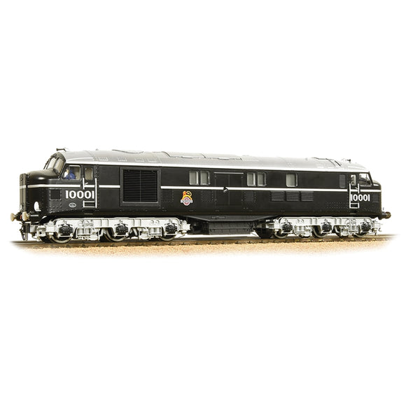 Bachmann 31-998 LMS 10001 BR Black (Early Emblem)