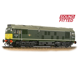 PRE-ORDER Bachmann 32-441SF Class 24/1 D5149 BR Green (Small Yellow Panels) SOUND FITTED