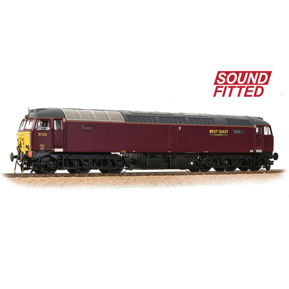 PRE-ORDER Bachmann 32-765SF Class 57/3 57313 WCRC Maroon SOUND FITTED